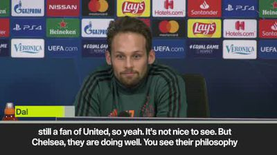 'I'm not happy to see Man Utd aren't performing' - Daley Blind