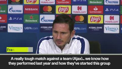 Ajax a 'completely different challenge', says Lampard