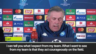 Ancelotti expects courage from his players in UCL clash against Salzburg