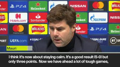 Pochettino hits back at critics after Spurs beat Red Star Belgrade 5-0