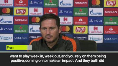 '5 wins in a row is dangerous' Lampard after Chelsea beat Ajax 1-0