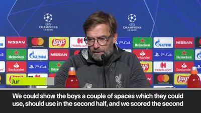 'All goals were unbelievably beautiful' Klopp after 4-1 win over Genk