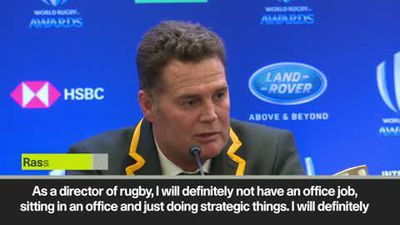 'I'm shifting focus' Erasmus moving to director role with South Africa