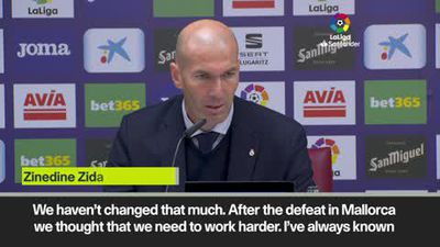 'Very, very, very good' - Zidane revels in Real Madrid win