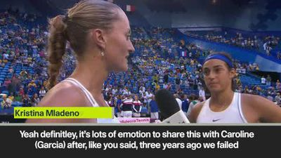 'Revenge for 2016' - says tearful Mladenovic after Fed Cup glory
