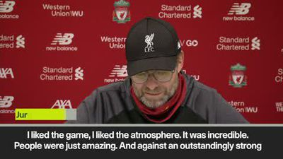 """Never seen a better goal"" Klopp after win over Man City"