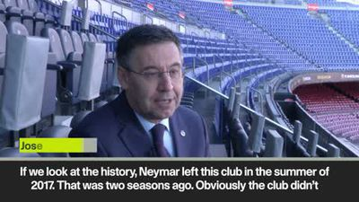 Barca President Bartomeu on Neymar, Coutinho and Dembele