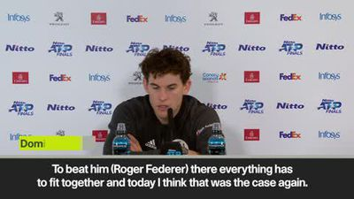 'Playing against Federer is a big honour, beating him is even better' Thiem