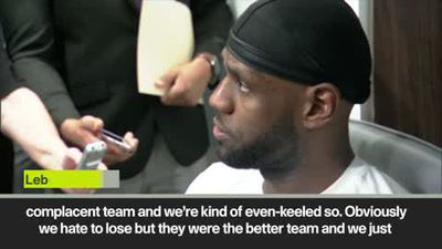 'They got championship DNA' LeBron on why Lakers lost to Raptors