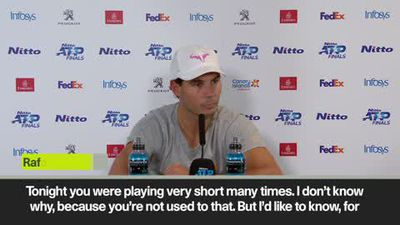 Nadal says 'bulls**t' to marriage question
