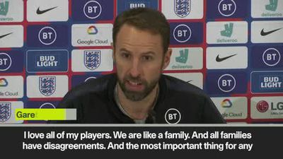 England squad 'like a family' - Southgate after Sterling-Gomez fallout