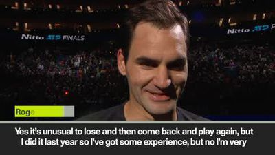 'I was clean' Federer after his win over Berrettini