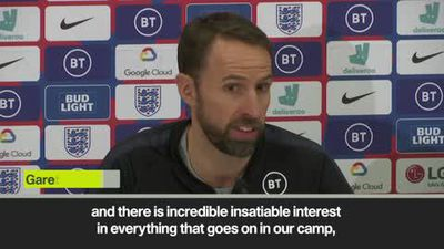 'Incredible insatiable interest in everything in England camp' - Southgate