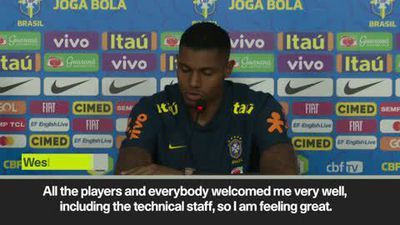 A 'dream' to play for the national team - Brazil forward Wesley