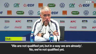 Deschamps on Giroud call-up; says it won't be a formality to beat Moldova