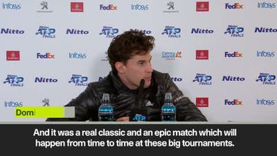 'Probably the best match I've ever played' - Thiem on beating Djokovic