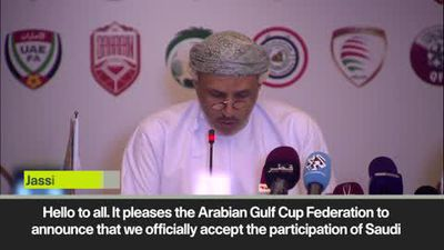 Saudis, UAE, Bahrain to compete at Gulf Cup