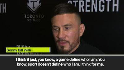 Sonny Bill Williams on religion helping him get the best out of himself