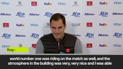 'It was a good day for tennis' says Federer after beating Djokovic