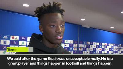 England fans 'unacceptable' to boo says Abraham