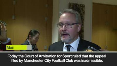 Man City's appeal to CAS ruled inadmissible