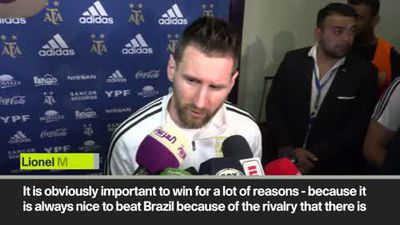 Messi - 'it's always nice to beat Brazil' after he scores winner