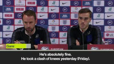 Sterling tweet 'brought closure' on Gomez incident - Southgate