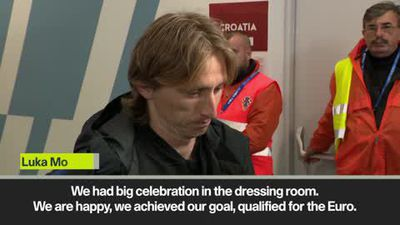 'Croatia will celebrate until the start of Euro' Modric
