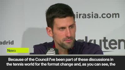'Davis Cup format change was very much needed' Djokovic