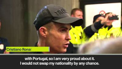 Cristiano Ronaldo on Danilo's claims that he'd have won more with Brazil