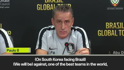 Brazil 'one of the best in the world' - South Korea's Bento