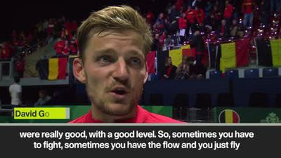 'I had to fight for win' - Belgium's Goffin after beating Colombia in Davis Cup