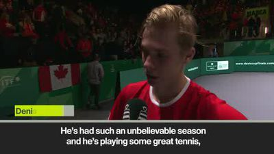 Shapovalov on 'amazing' win against Berrettini in Davis Cup