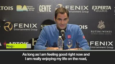 'No reason to stop' says Federer on retirement