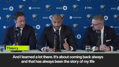 'You win or you learn' - Montreal Impact head coach Thierry Henry