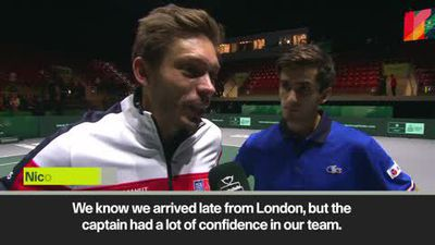 Japan 'played a very, very high level' - France's Mahut after win in Davis Cup Finals