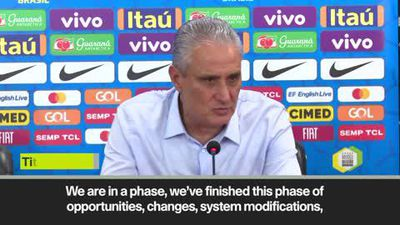 Brazil 'can now plan for official competitions' - Tite after South Korea win