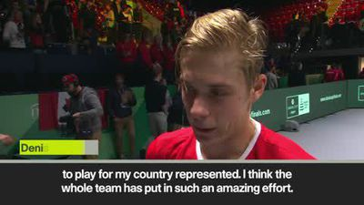 'Unbelievable chemistry' in Canada Davis Cup team - Shapovalov