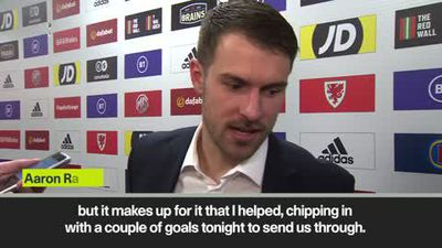 Wales' Ramsey on 'unfinished business' with the Euros