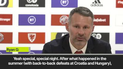 'One of the greatest nights of my life' - Giggs on Wales qualifying for Euro 2020