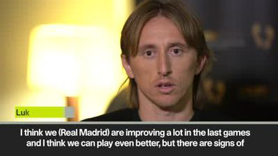 Luka Modric says Real Madrid are improving