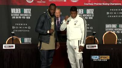 Wilder says Ortiz fight can finish in two seconds at final press conference