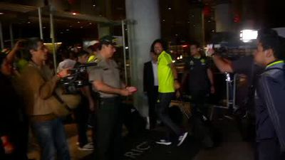 Flamengo arrive in Lima ahead of Copa Libertadores final against River Plate