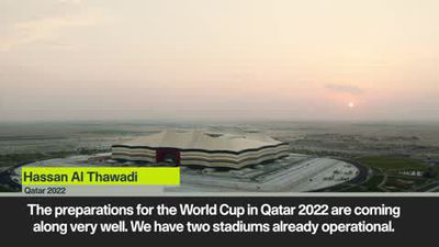 'Fans can expect sun, sand, beach and entertainment in Qatar 2022' Al Thawadi marks three-year co...