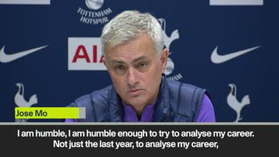 'I am humble' says Mourinho at first Tottenham news conference