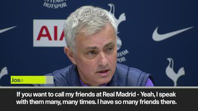 Mourinho on Real President - 'He loves me, I love him'