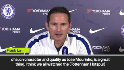 'Mourinho as a character is great for the Premier League' - Lampard