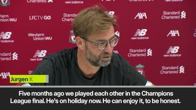 'We have a history together with Pochettino' Klopp