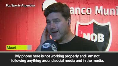 Pochettino - 'I am open to listen about projects'