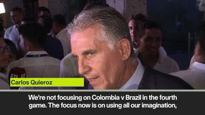 "Colombia need to make the ""impossible, possible"" says Quieroz at Copa draw"